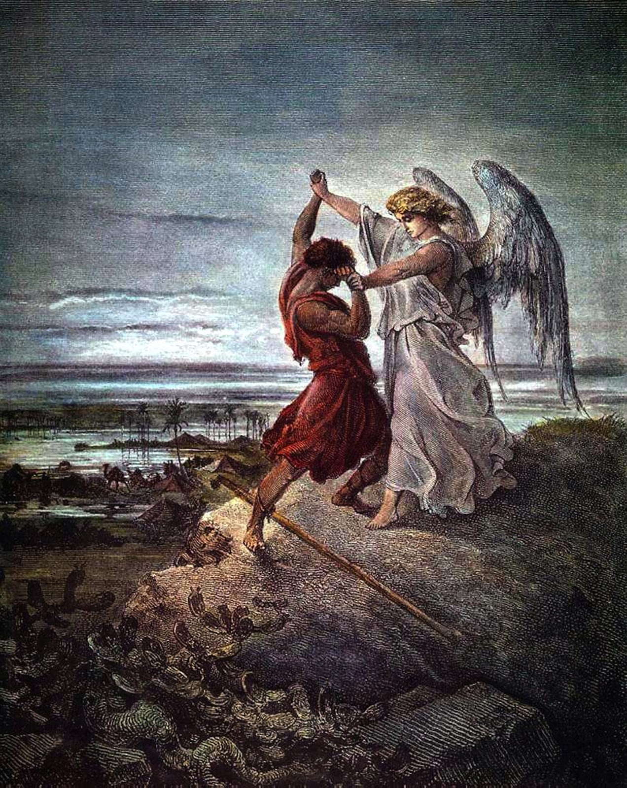 Dore - Jacob with Angel