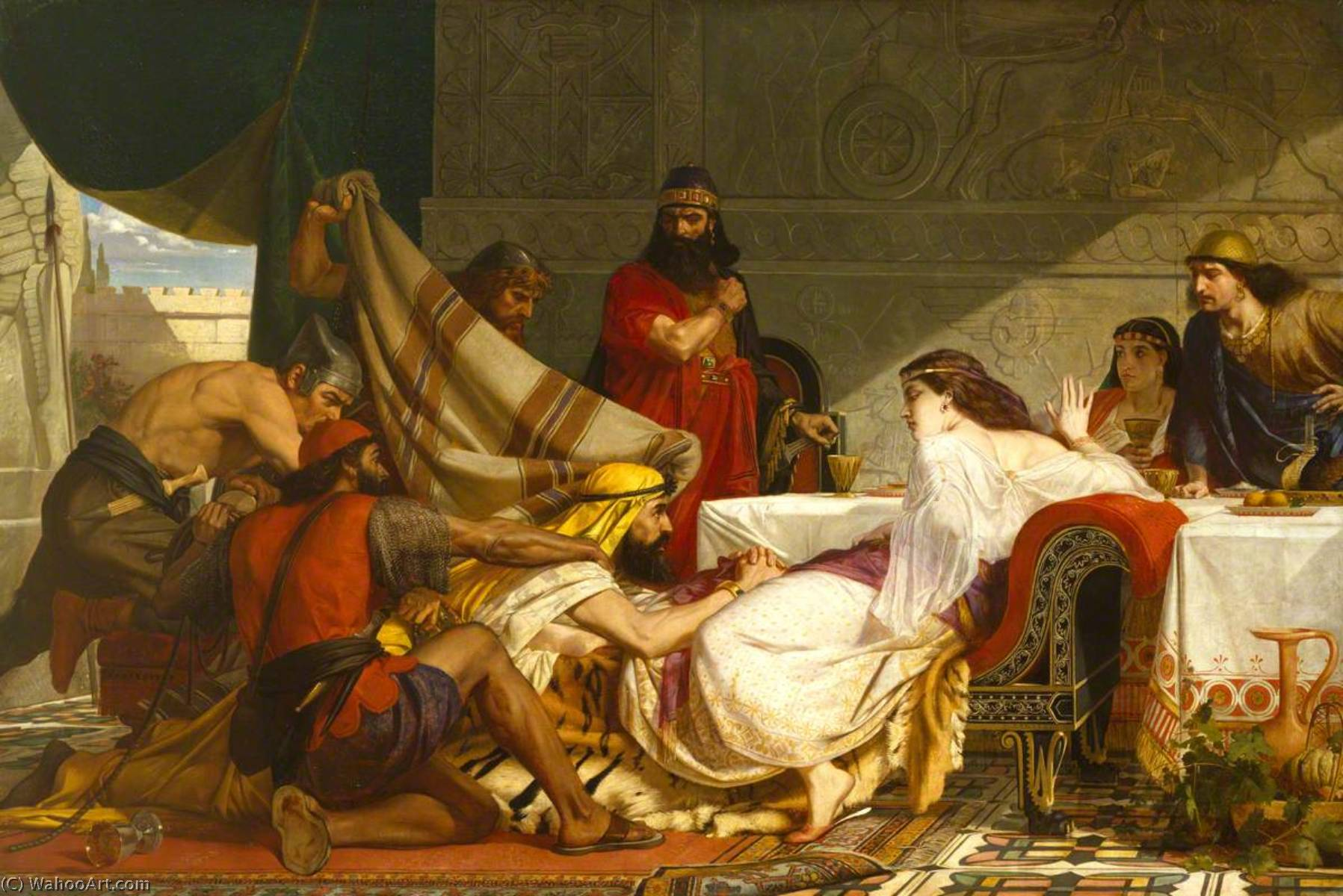 Edward-Armitage-The-Festival-of-Esther