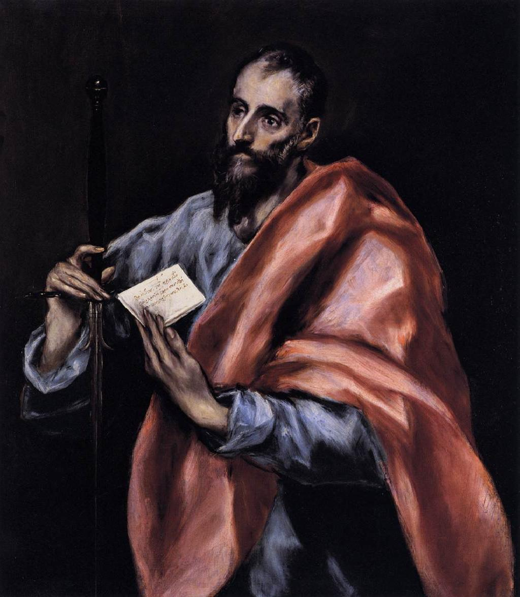 El Greco - Apostle St Paul -2
