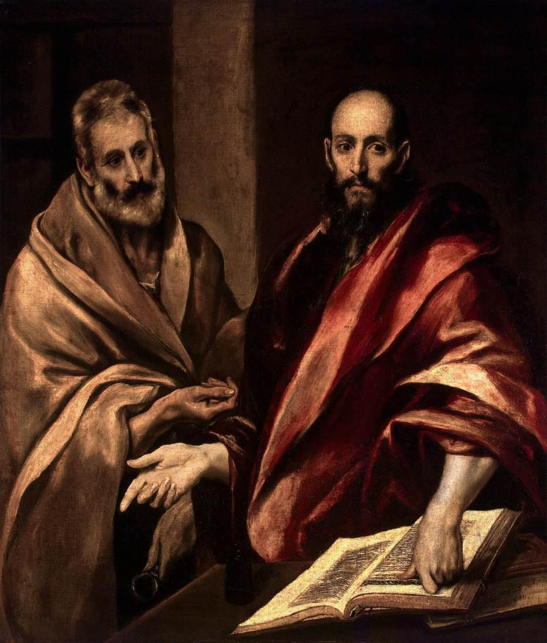 El Greco - Apostles Peter and Paul - WGA10496