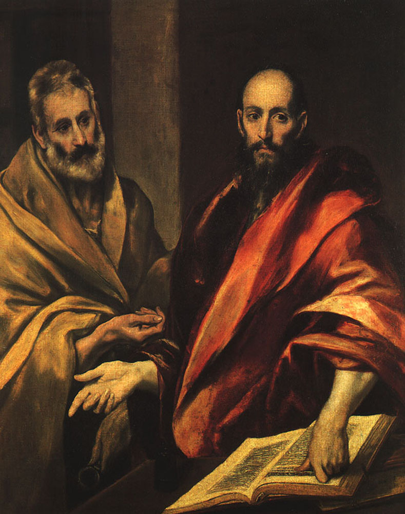 El Greco -apostles-peter-and-paul-1592