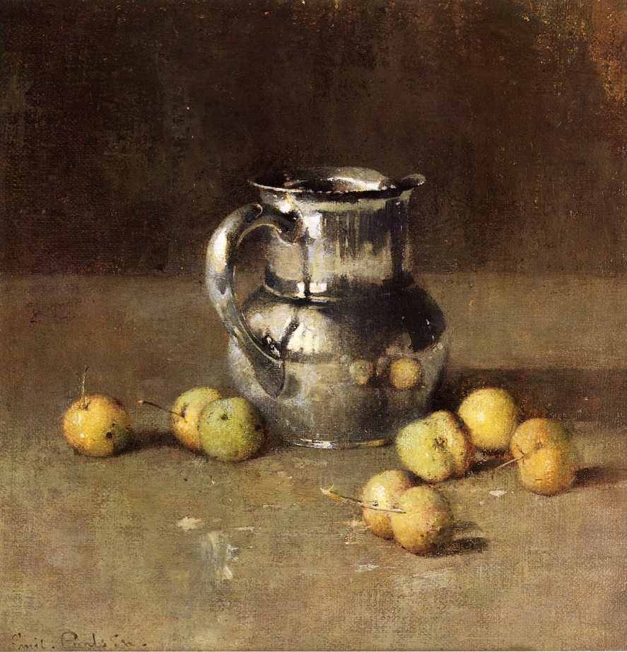Emil-Carlsen-xx-Still-LIfe-with-Pitcher-and-Pivar-xx-Private-collection