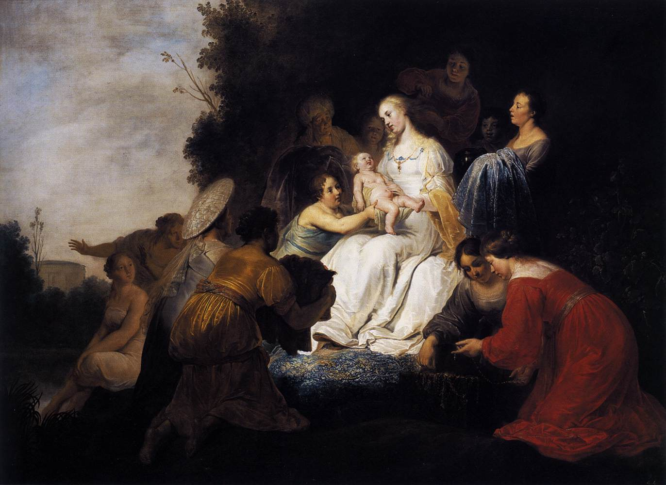 Finding of Moses by GREBBER