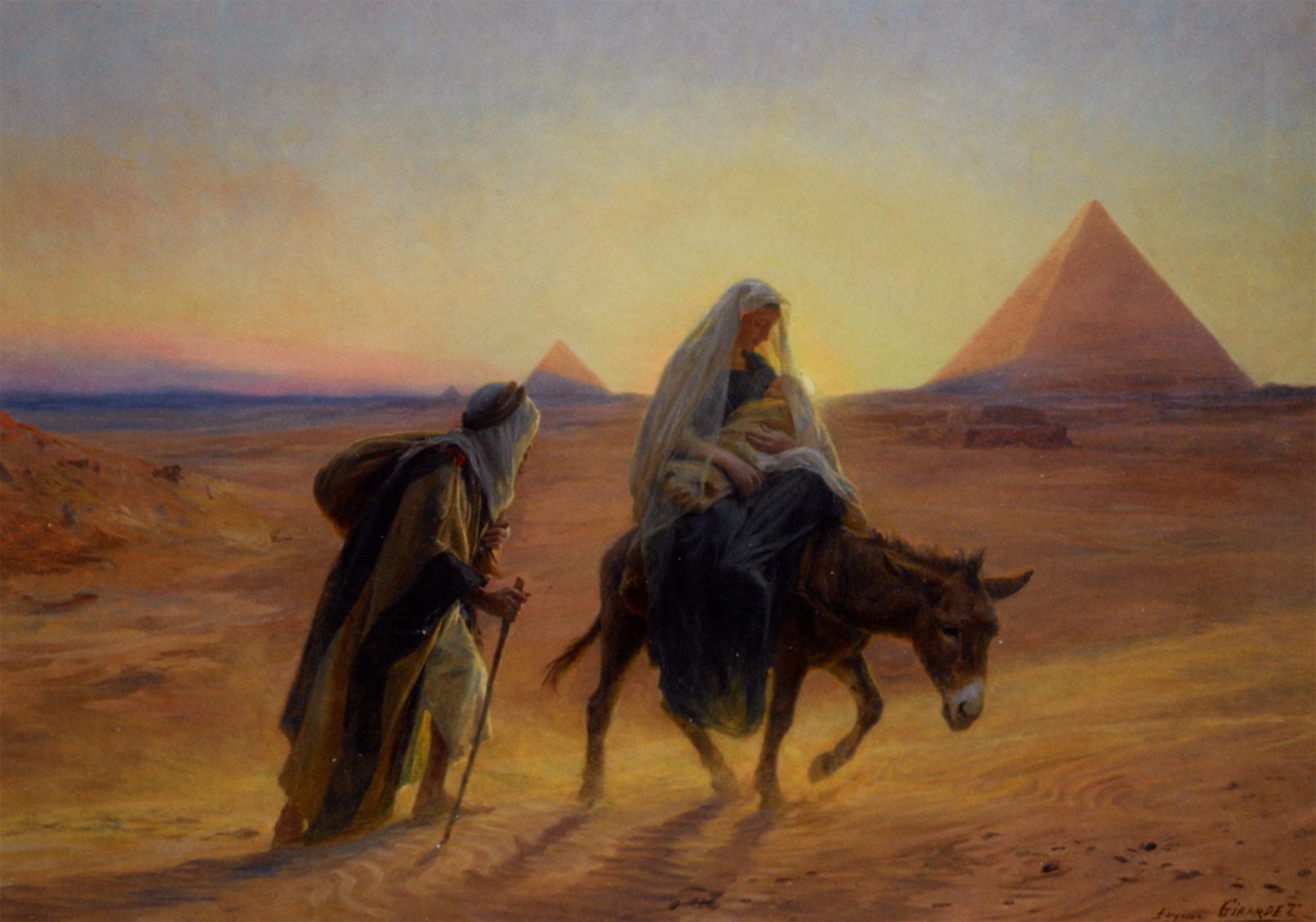 Flight-into-Egypt-by-Eugene-Alexis-Girardet