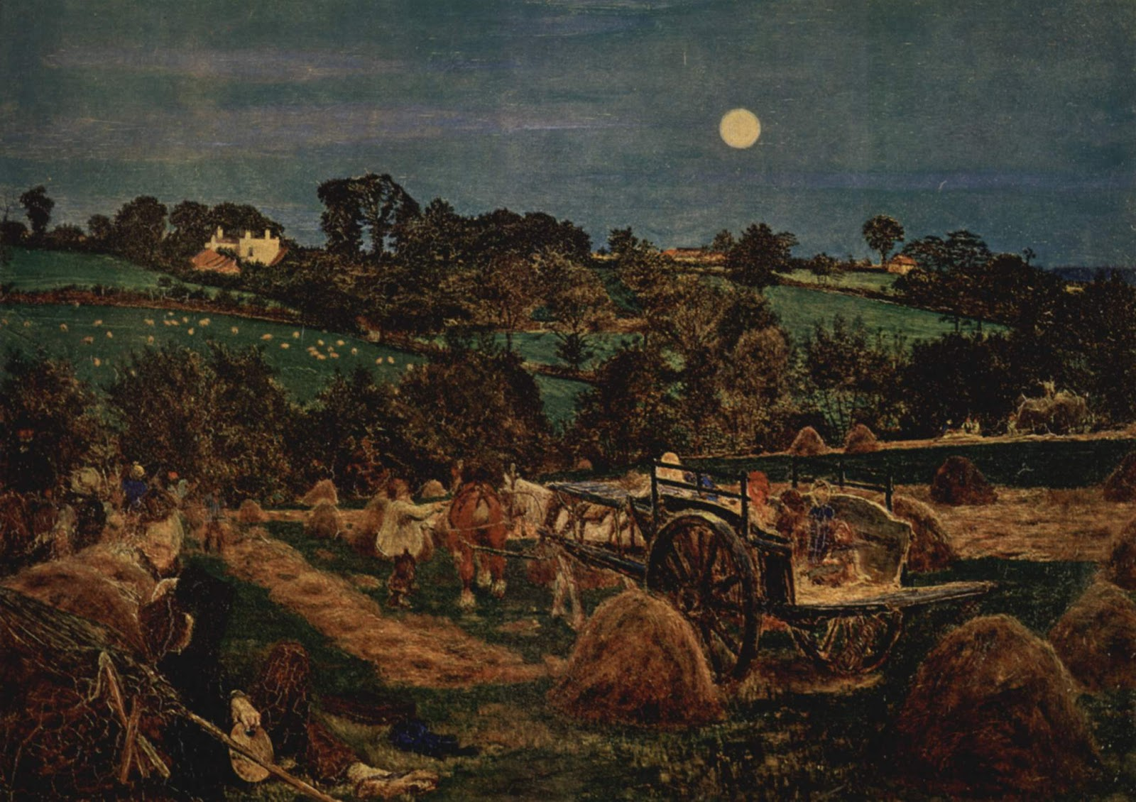 Ford Madox Brown - Harvest Moon