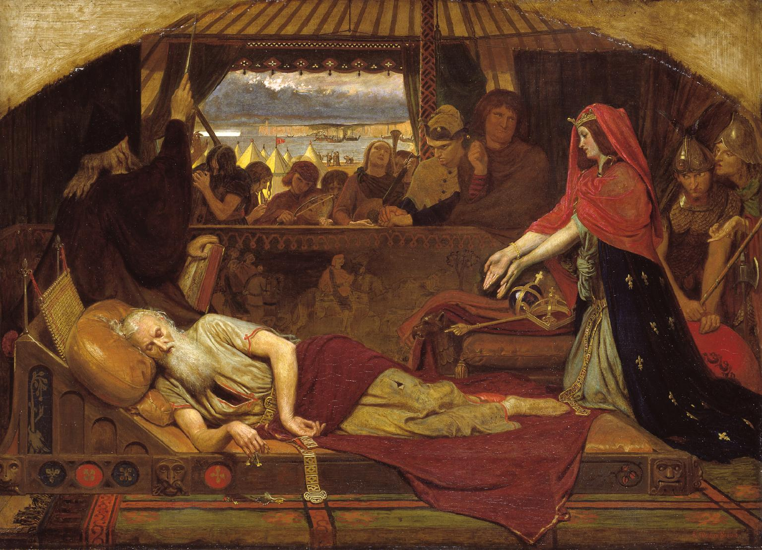 Ford Madox Brown Lear and Cordelia 1849