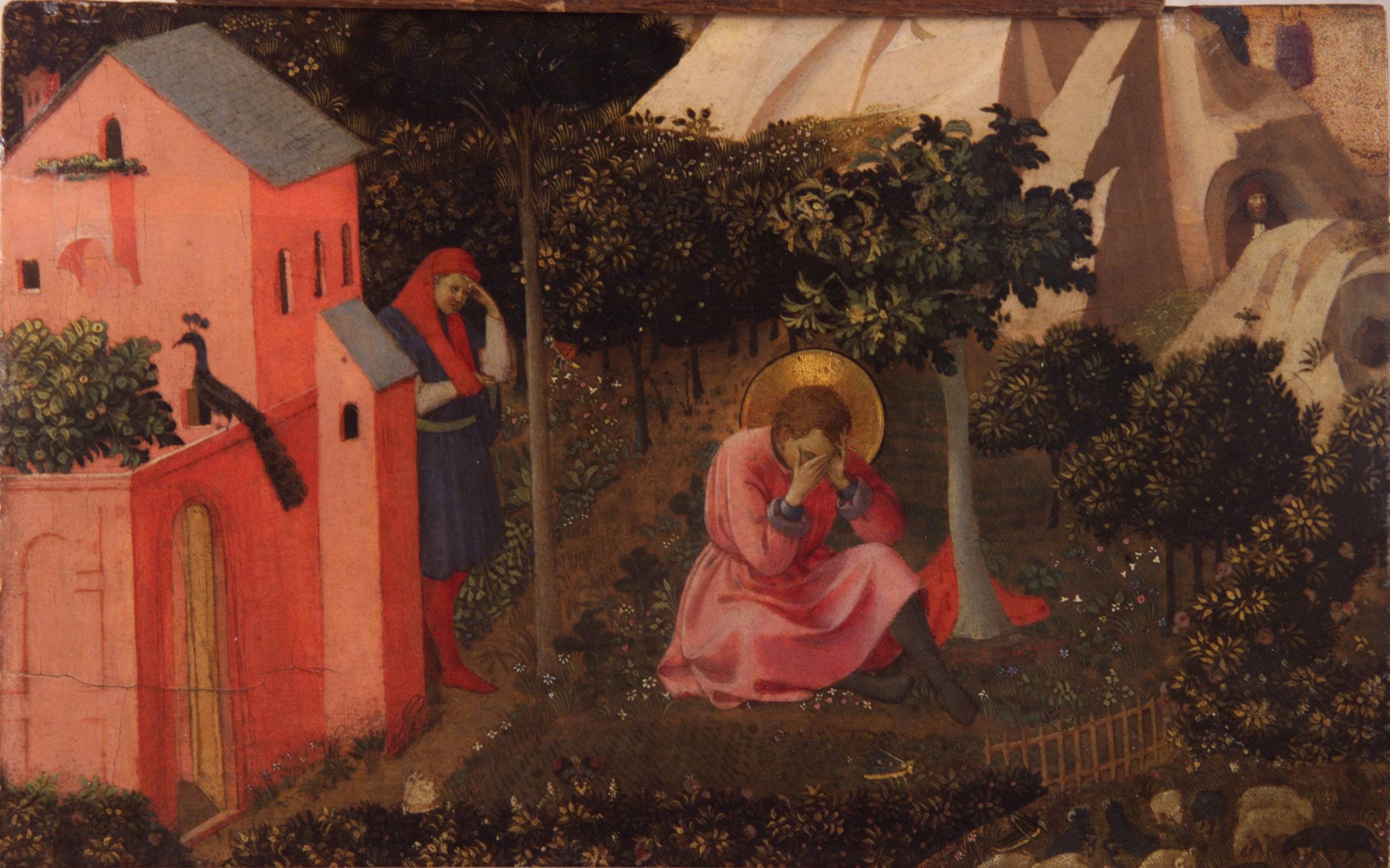 Fra angelico - conversion de saint augustin