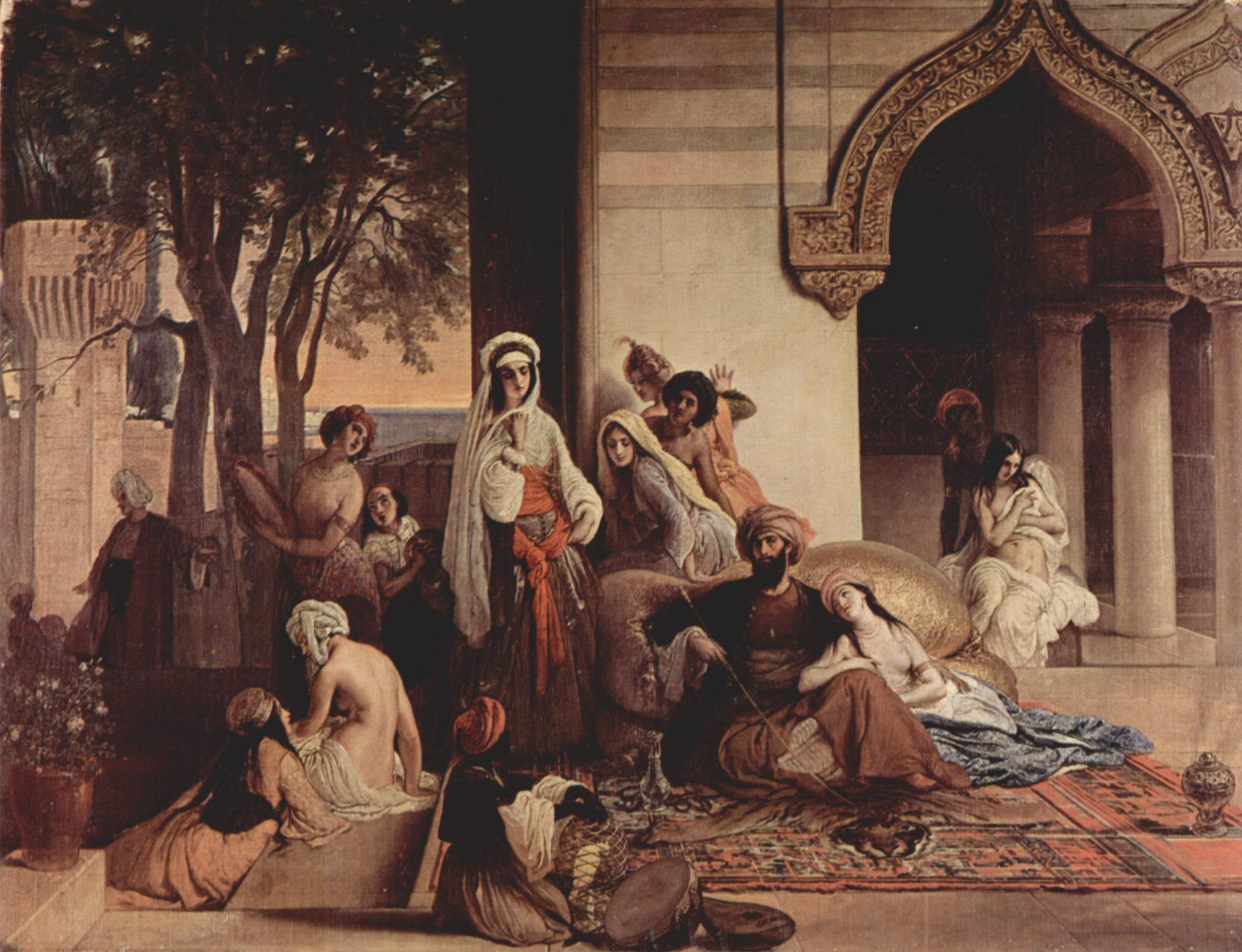 Francesco Hayez New Favorite in Harem