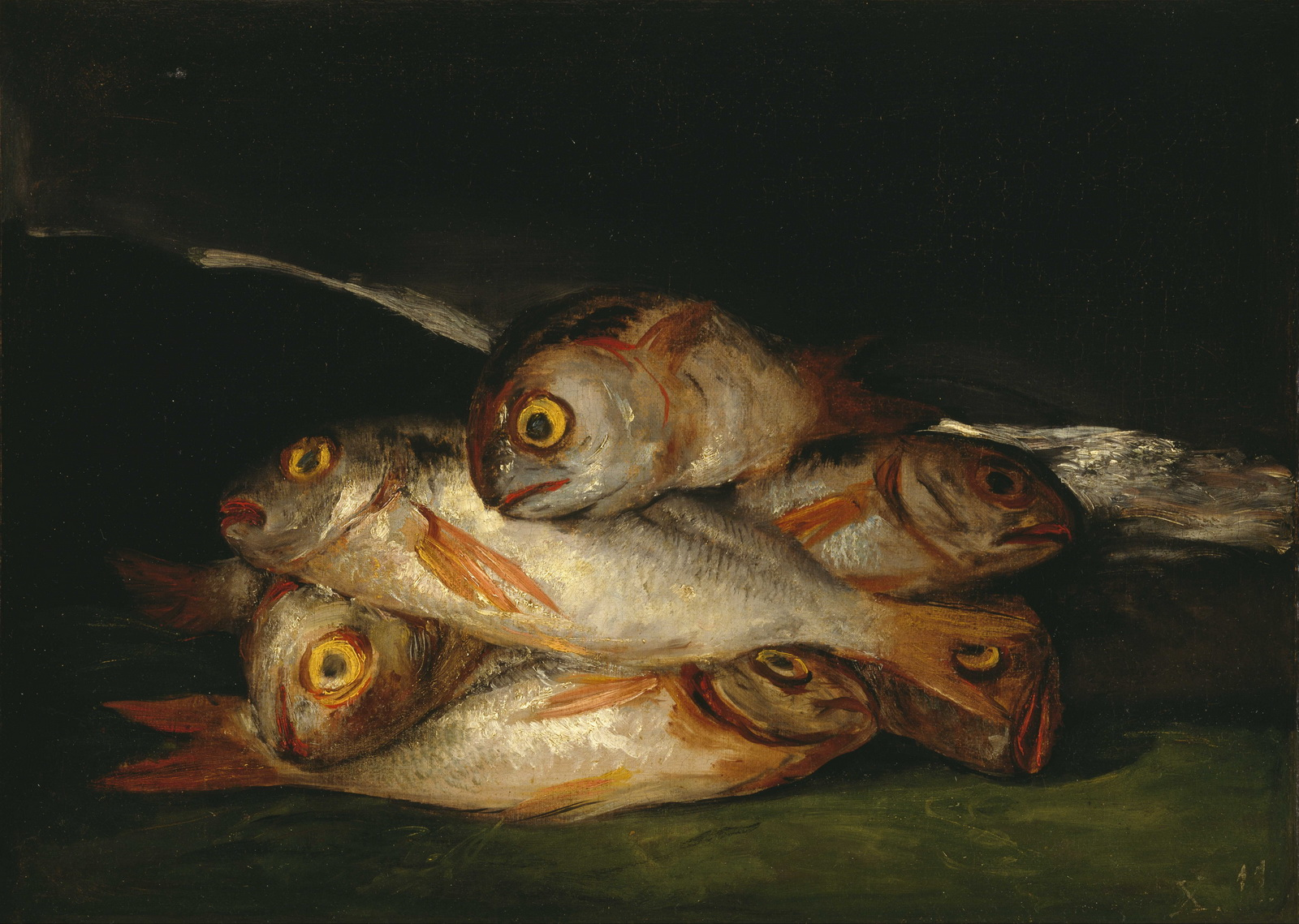 Francisco de Goya - Still Life with Golden Bream 1600