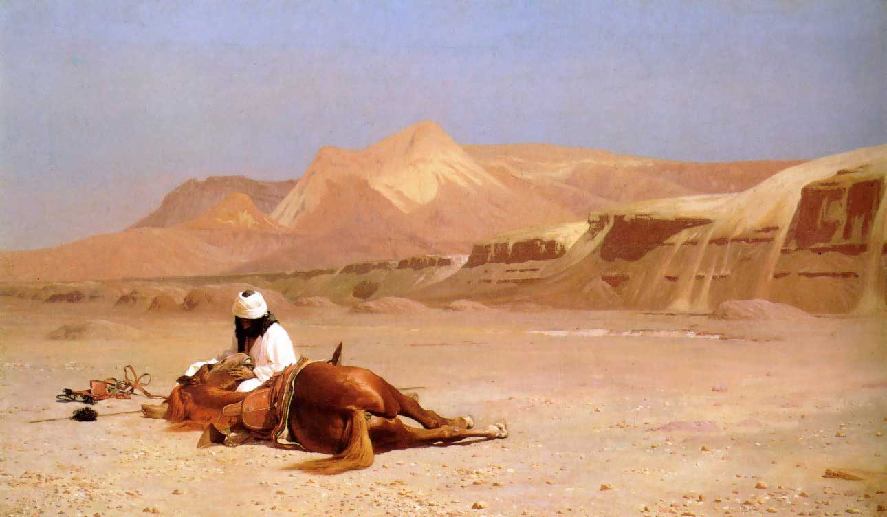 Gérôme - The Arab and his Steed