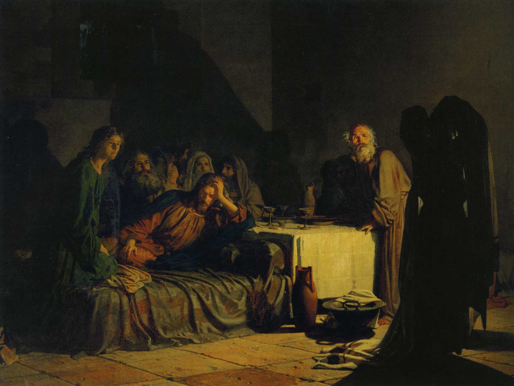 Ge The last supper 1863