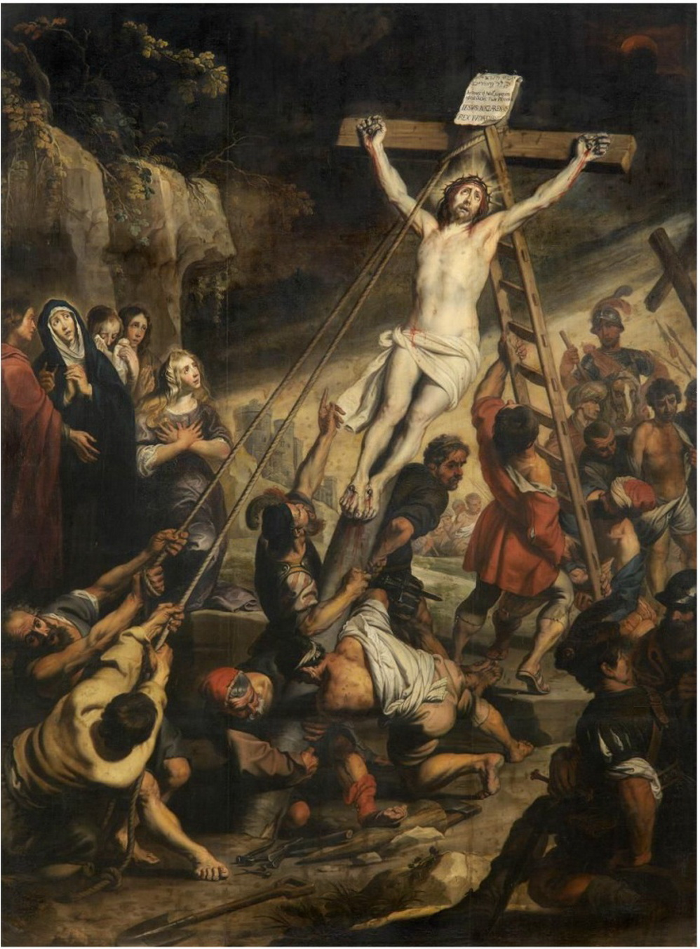 Gerard Seghers - The Raising of the Cross-2