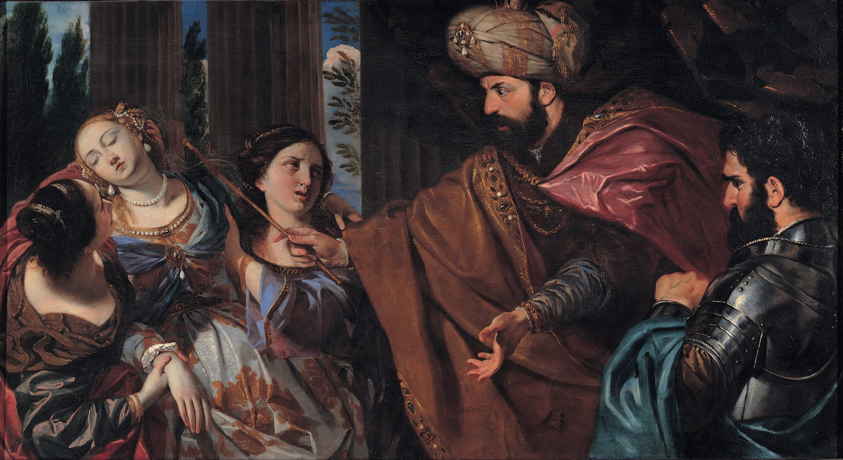 Giovanni Bonati - Esther before Ahasuerus 2