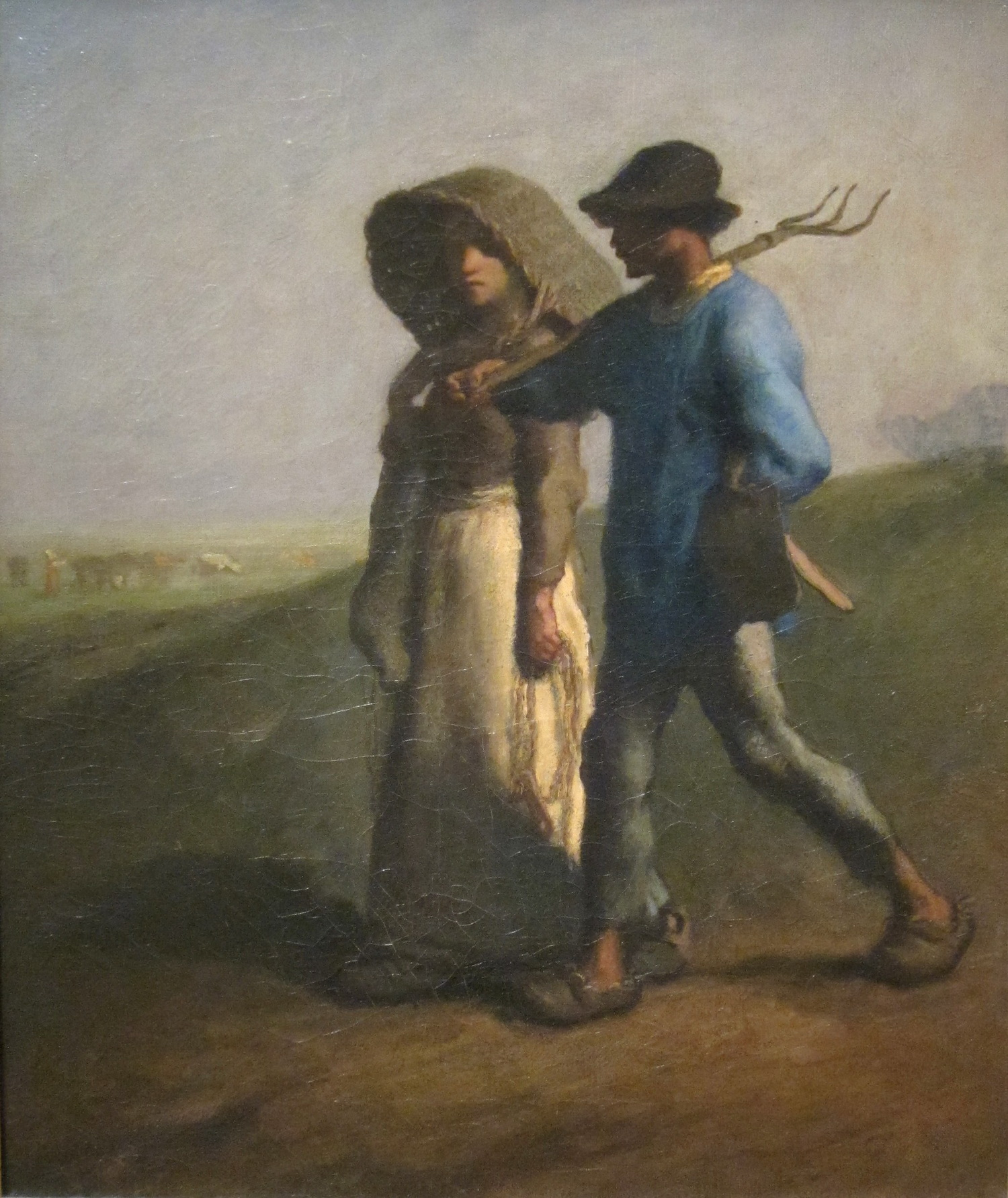 Going to Work by Jean-François Millet 1851-531-1500