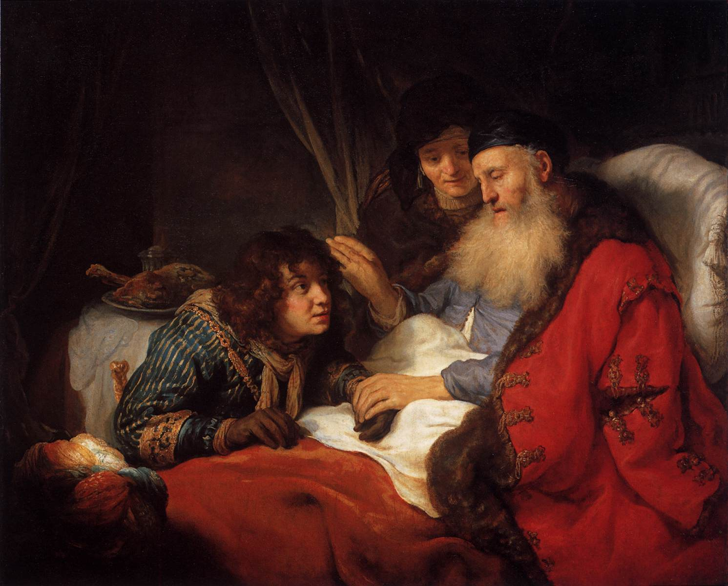 Govert Flinck Isaac Blessing Jacob 1638