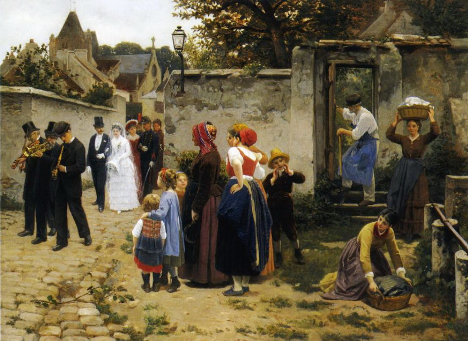 Guillaume Seignac - The Wedding Procession-2