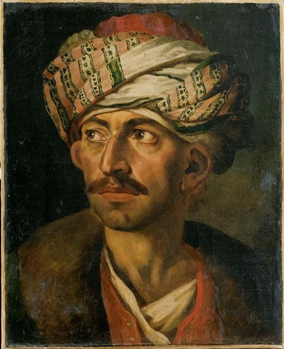 Head of an Oriental or Portrait Presumed to be Mustapha 1819-1821-2