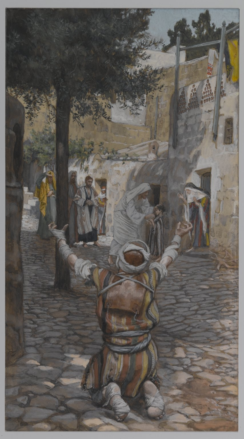 Healing of the Lepers at Capernaum 1886 - 1894 - James Tissot