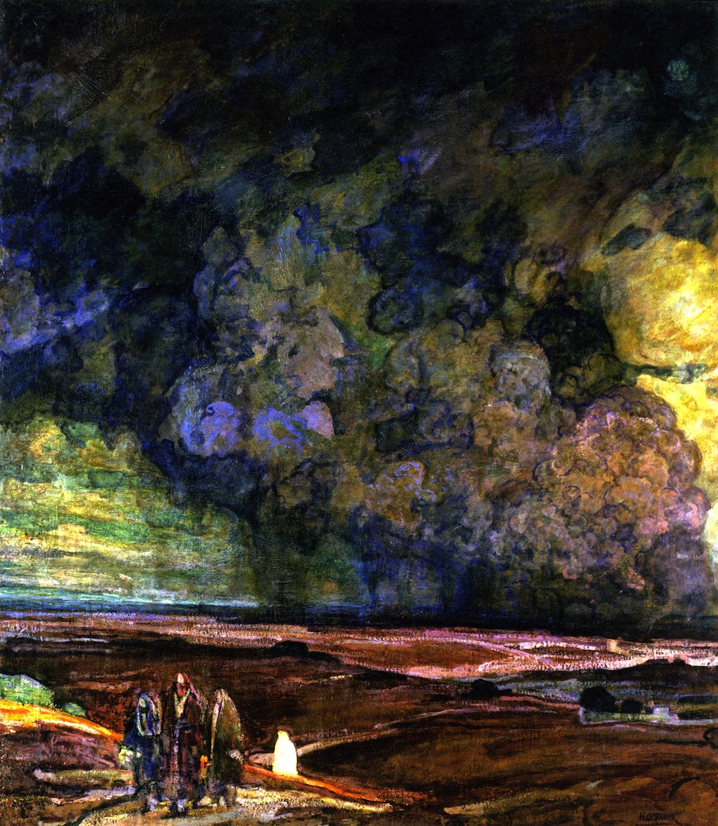 Henry Ossawa Tanner - Sodom and Gomorrha-2