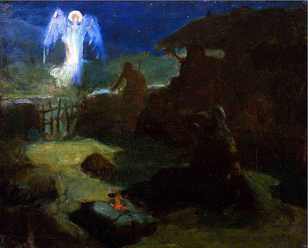 Henry Ossawa Tanner - The Annunciation to the Shepards-1000