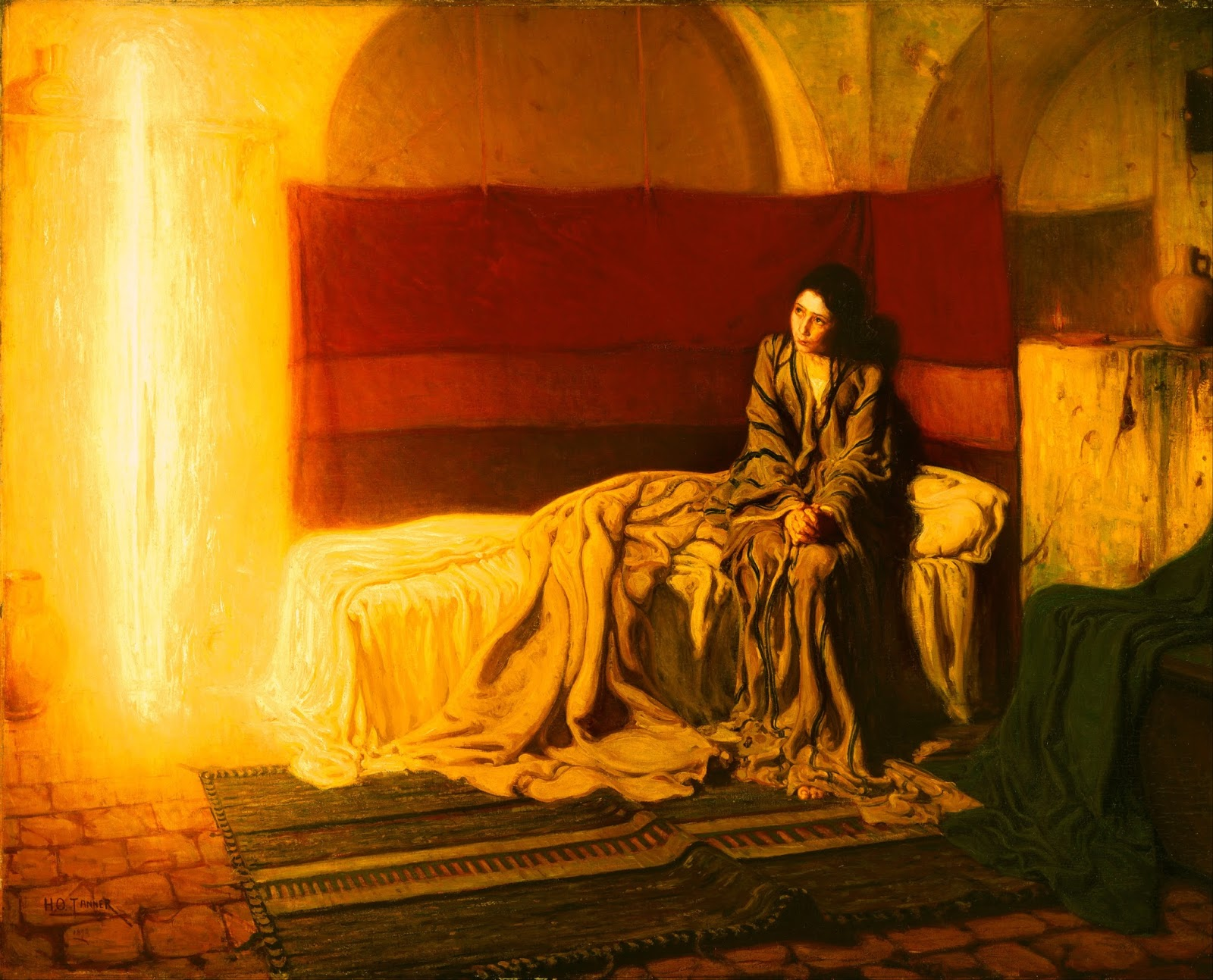 Henry Ossawa Tanner American active France - The Annunciation