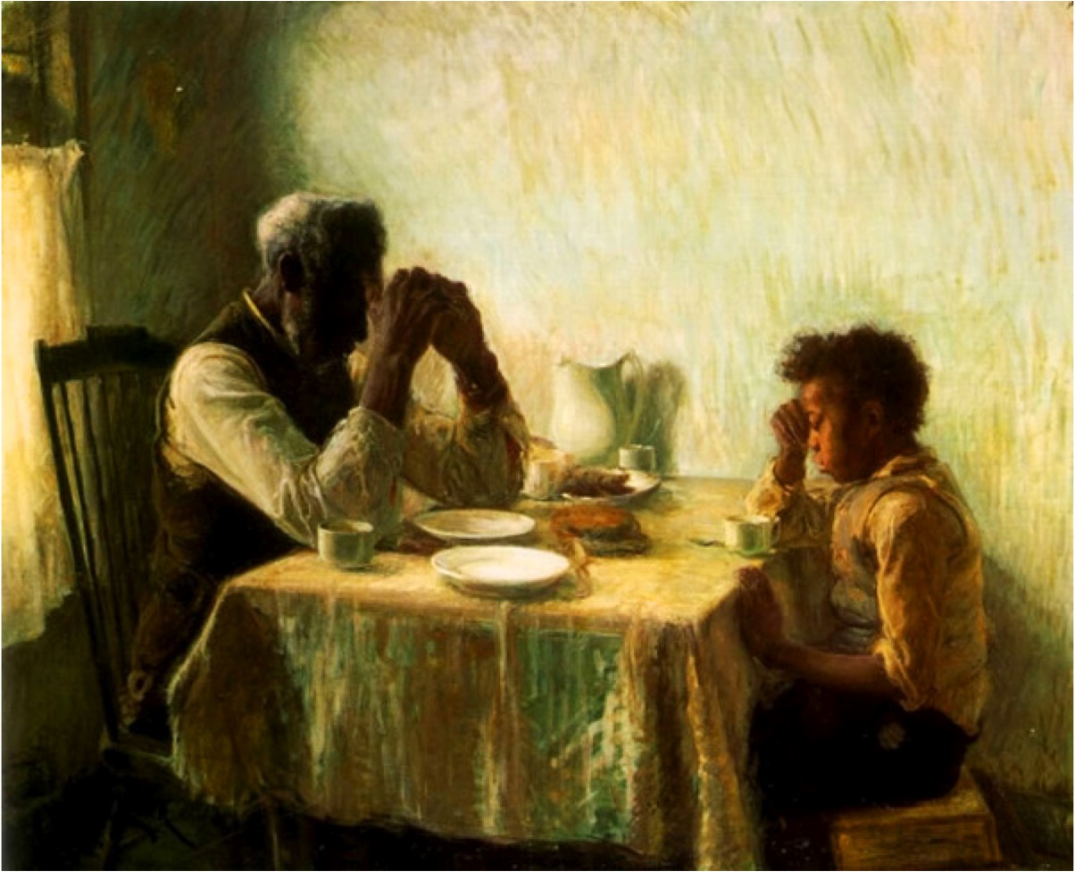 Henry Ossawa Tanner The Thankful Poor 1894
