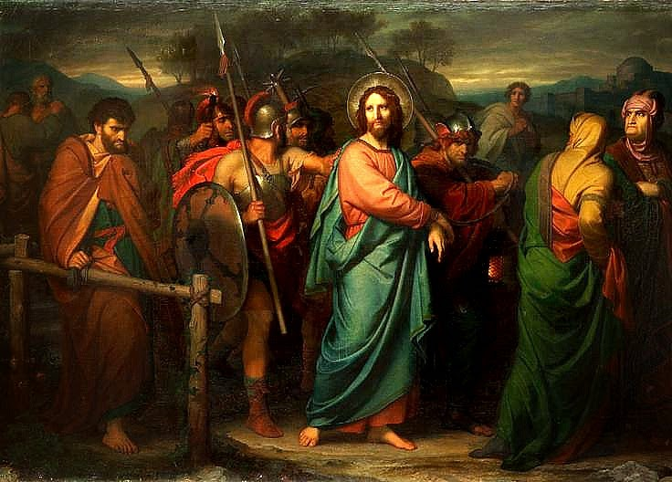 Hofmann Arrest of Christ 1858