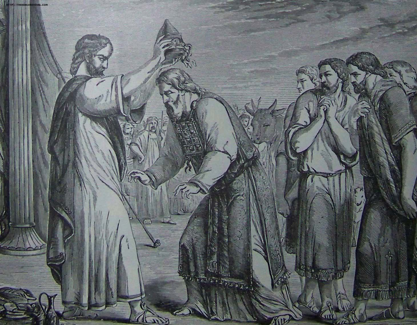 Holman Consecration of Aaron and His Sons