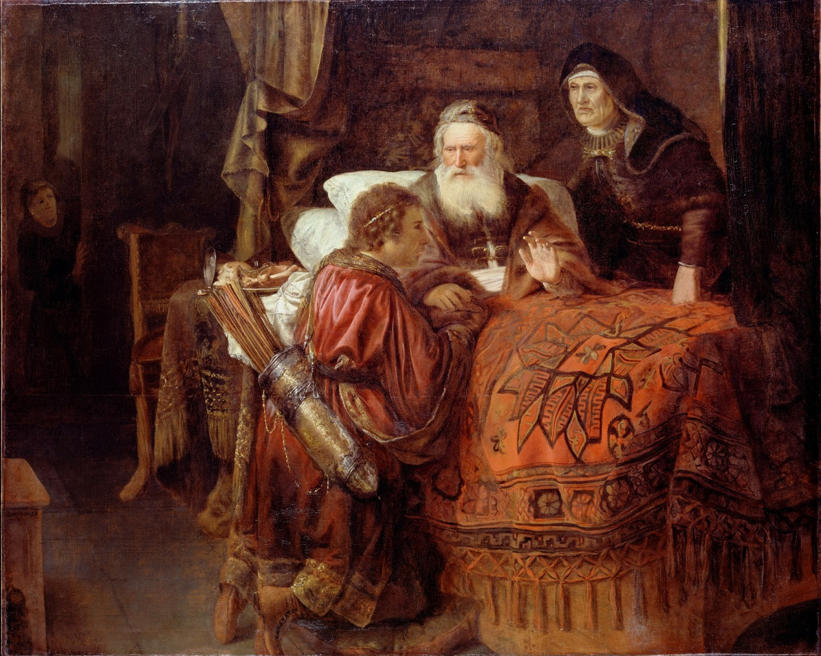 Horst Gerrit Willemsz. - Isaac blessing Jacob