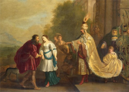 Isaac Isaacsz Pharaoh Returns Sarah to Abraham Abimelech King of Gerar Restores