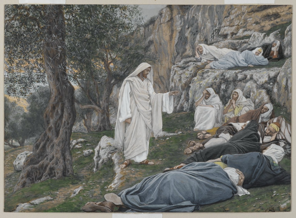 James Tissot. Jesus commands the apostles to rest-1000