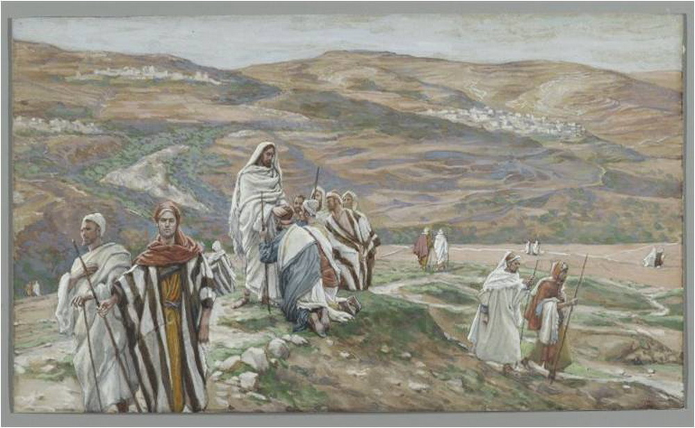 James Tissot 1886-96 Christ Sent Them Out Two by Two-1000