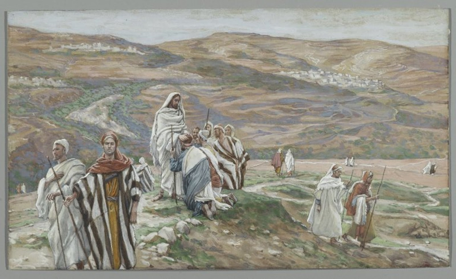 James Tissot 1886-96 Christ Sent Them Out Two by Two 2