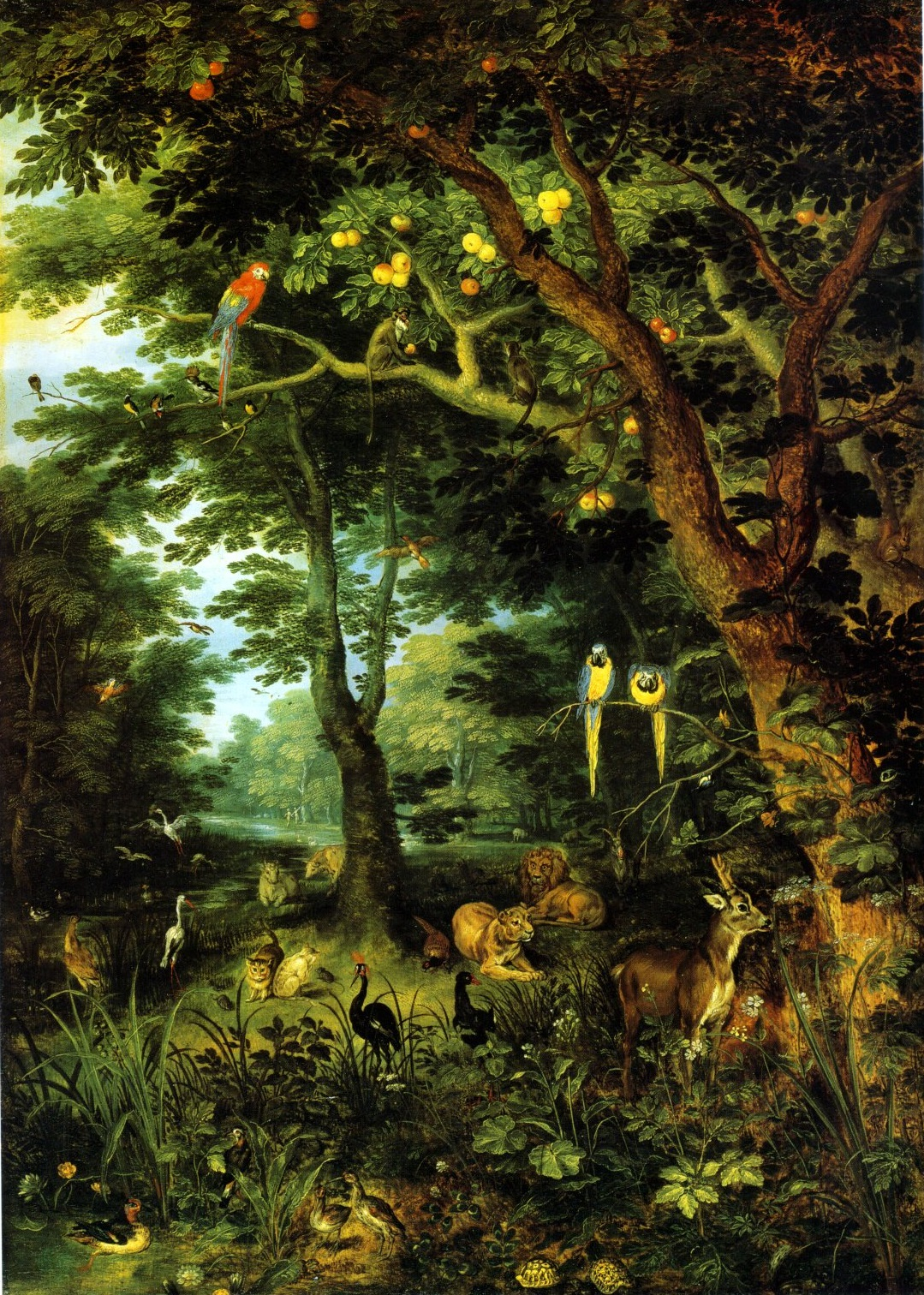 Jan Brueghel the Younger Paradise