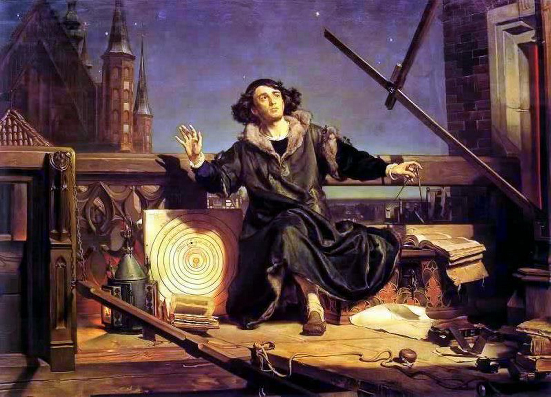 Jan Matejko-Astronomer Copernicus-Conversation with God-1100