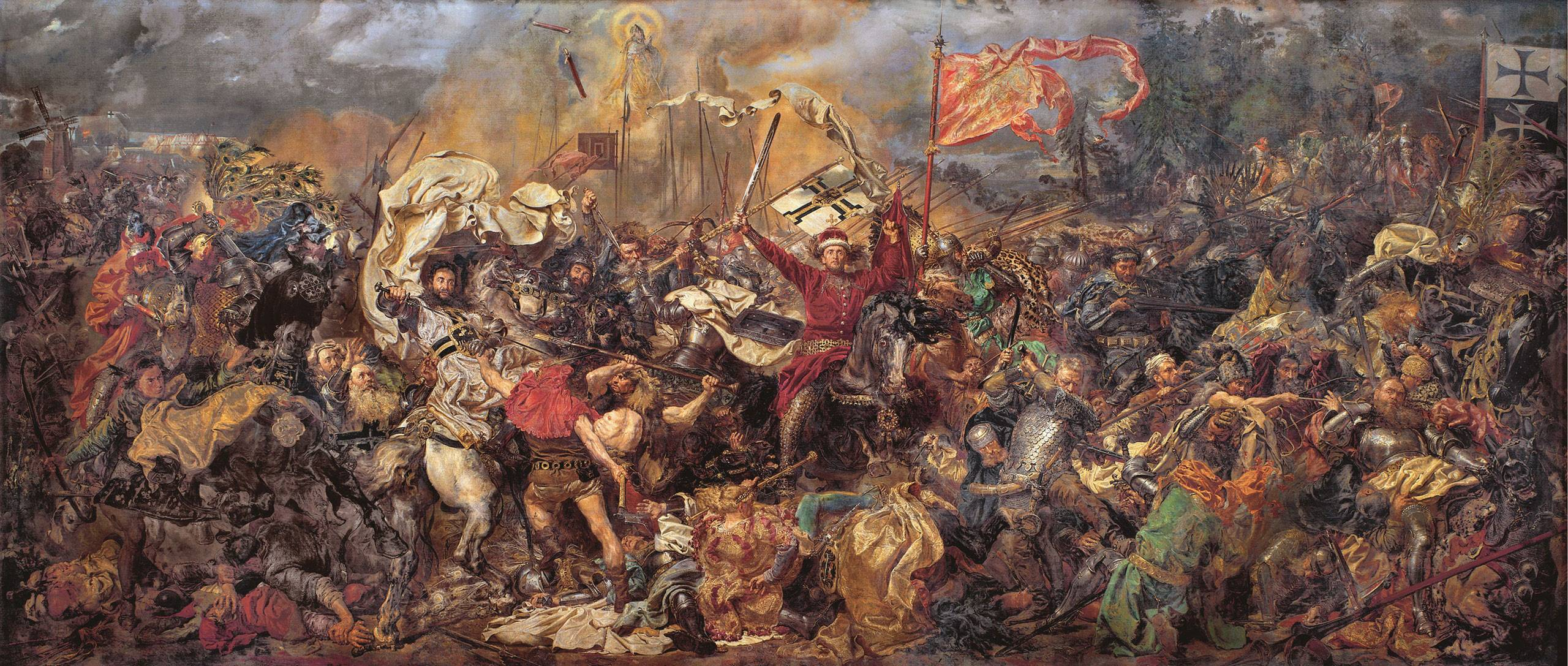 Jan Matejko  Battle of Grunwald