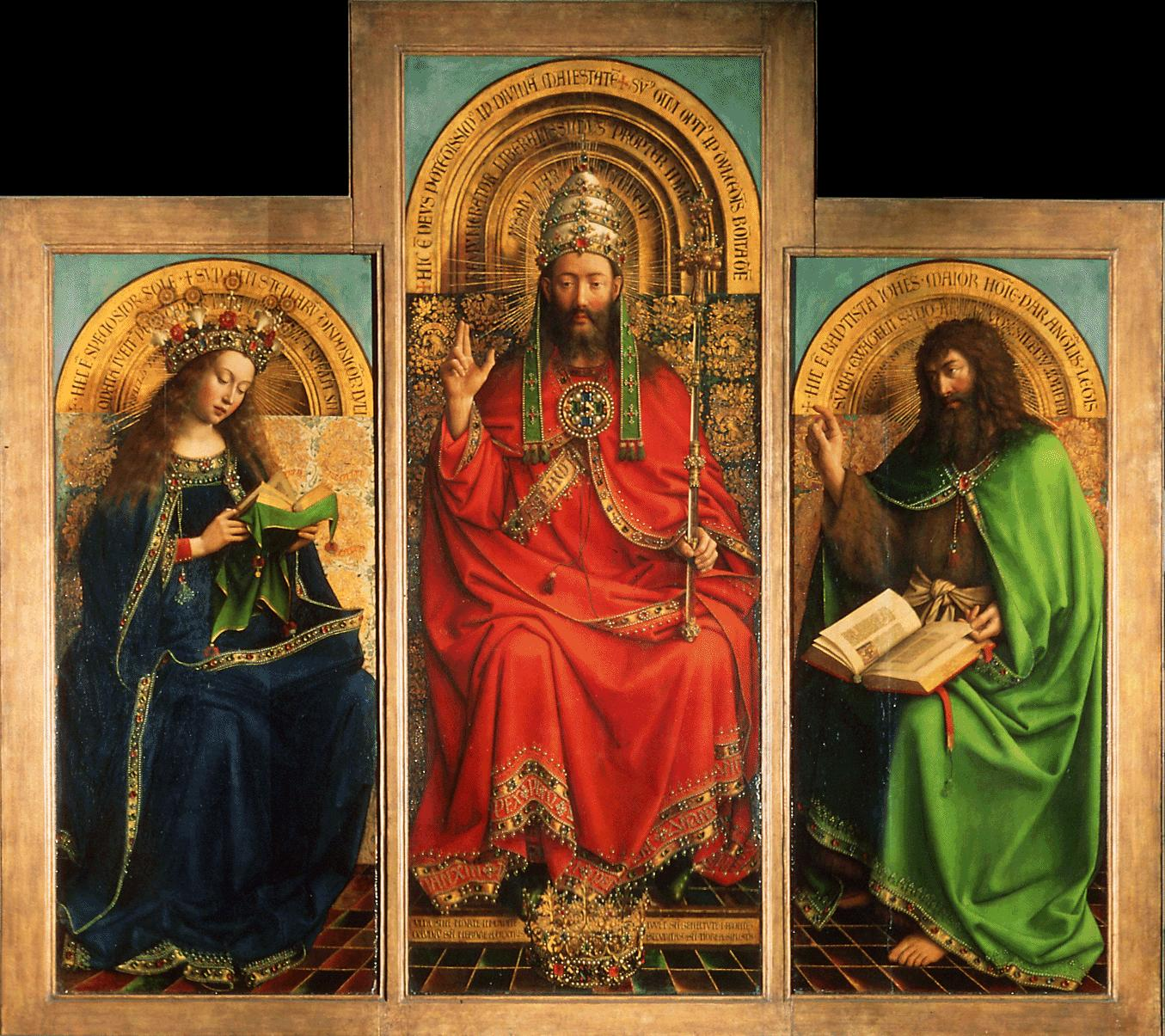 Jan van Eyck-Retable de lAgneau mystique 1