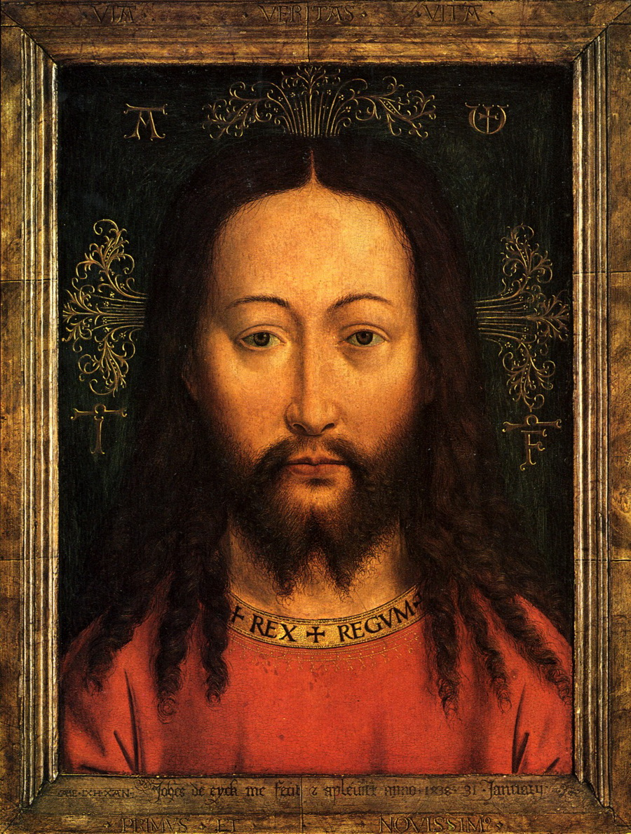 Jan van Eyck Holy Face Berlin 1438-900