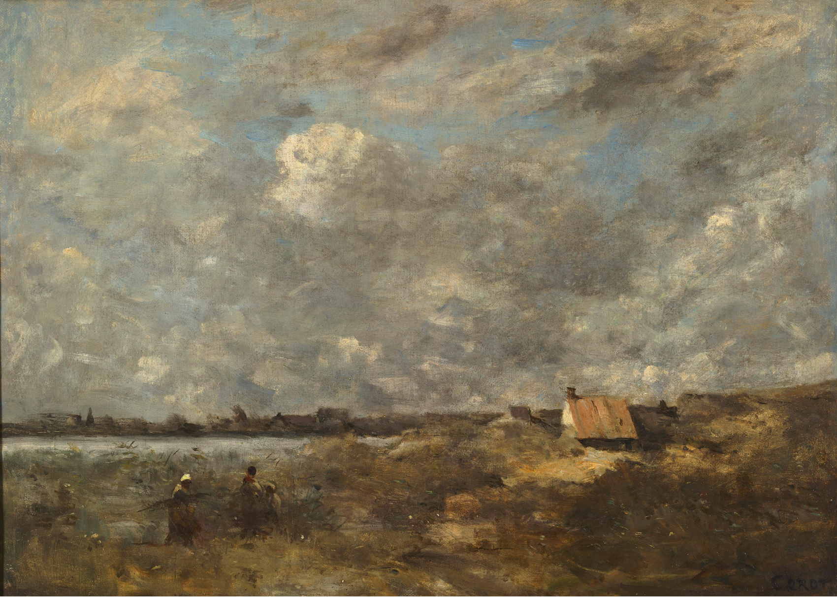 Jean-Baptiste-Camille Corot 046-stormy weather-1700