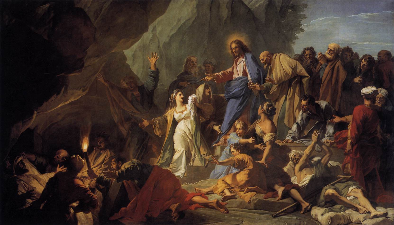 Jean-Baptiste Jouvenet - The Raising of Lazarus-1706-
