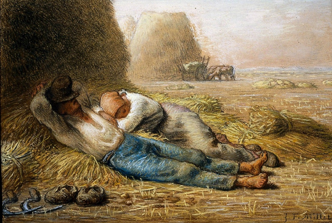 Jean-Franois Millet 18141875   Noonday Rest   1866