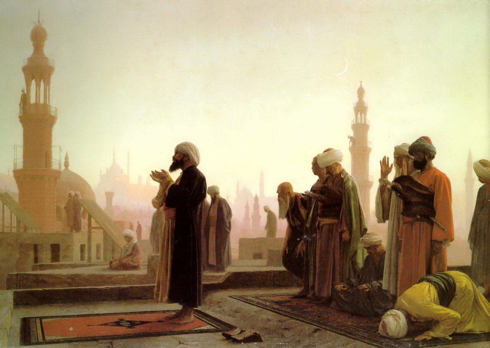 Jean-Léon Gérôme-Prayer in Cairo 1865-2