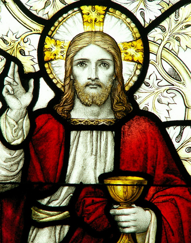 Jesus with Cup