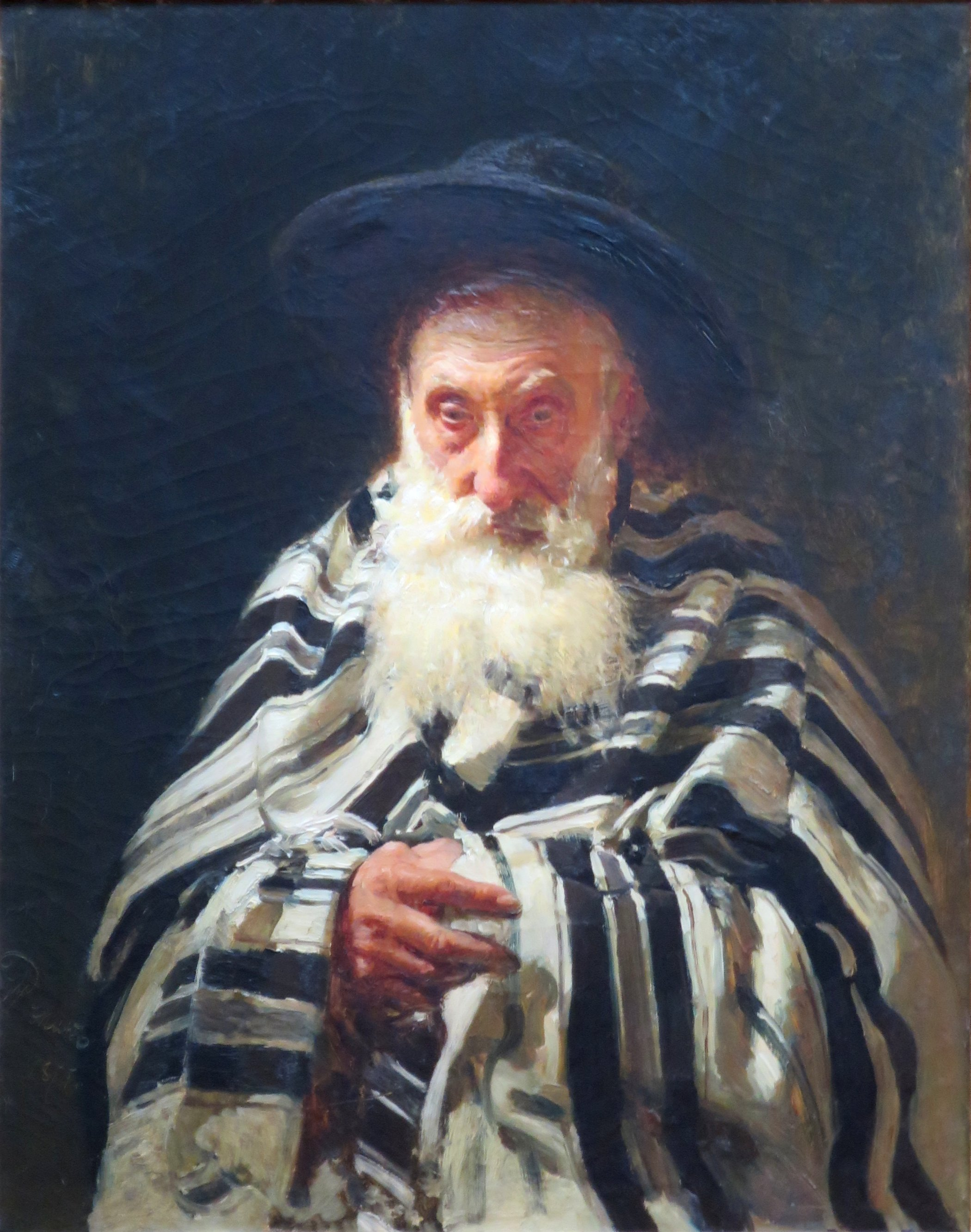 Jew on a Prayer by Repin