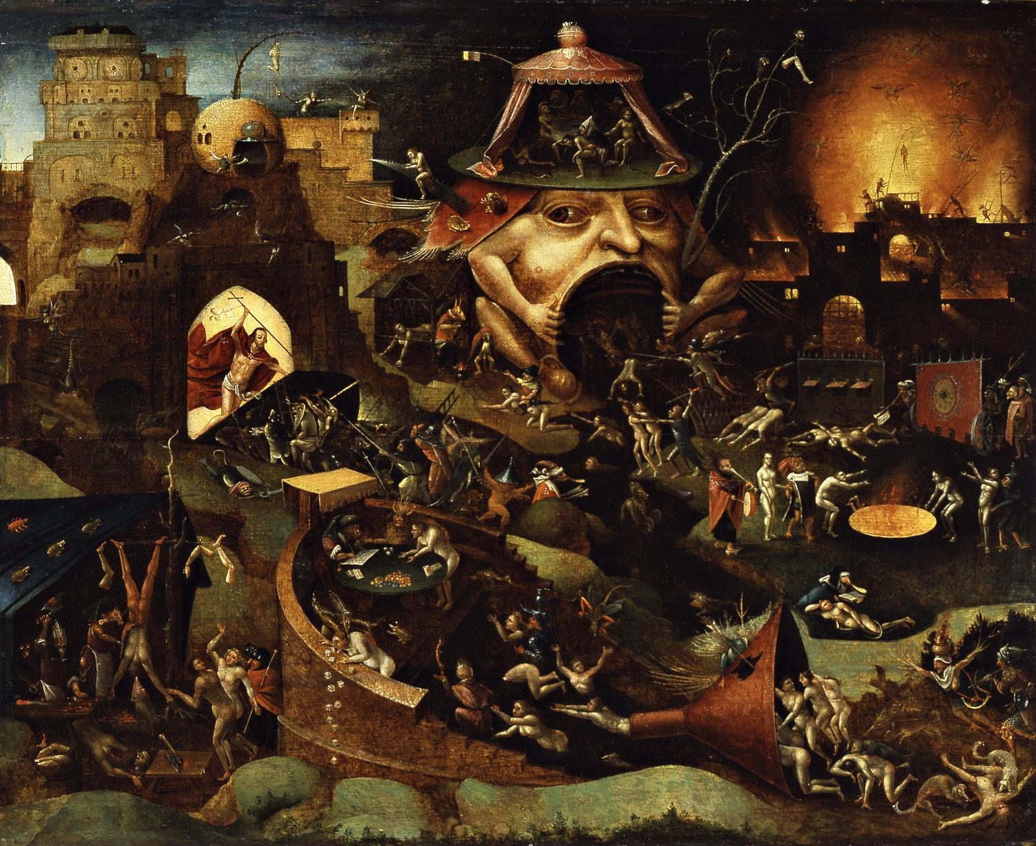 Jheronimus Bosch Christ in Limbo-1500