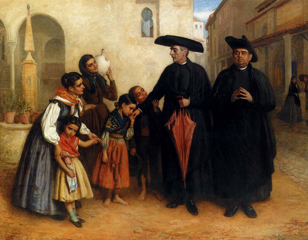 John Bagnold Burgess The Favourite Priest
