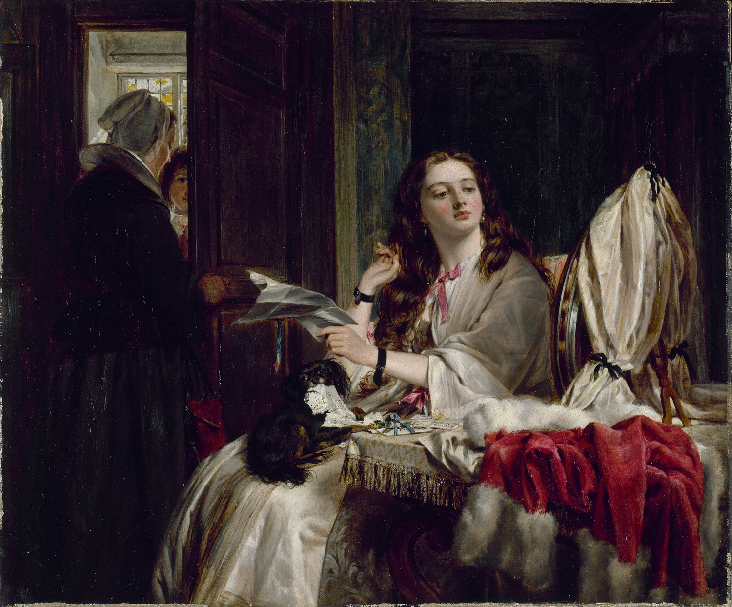 John Callcott Horsley - The Morning of St Valentine - Google Art Project-2