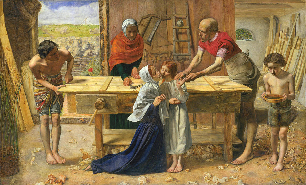 John Everett Millais - Christ in the House of His Parentso
