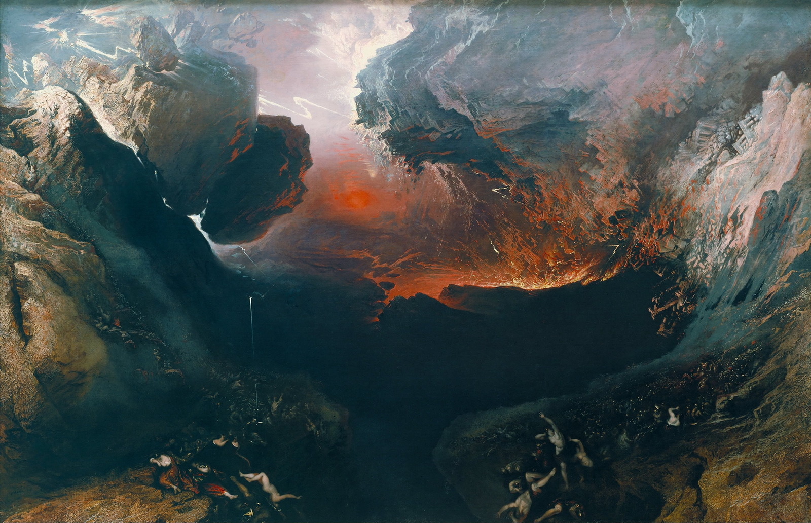John Martin - The Great Day of His Wrath-1600