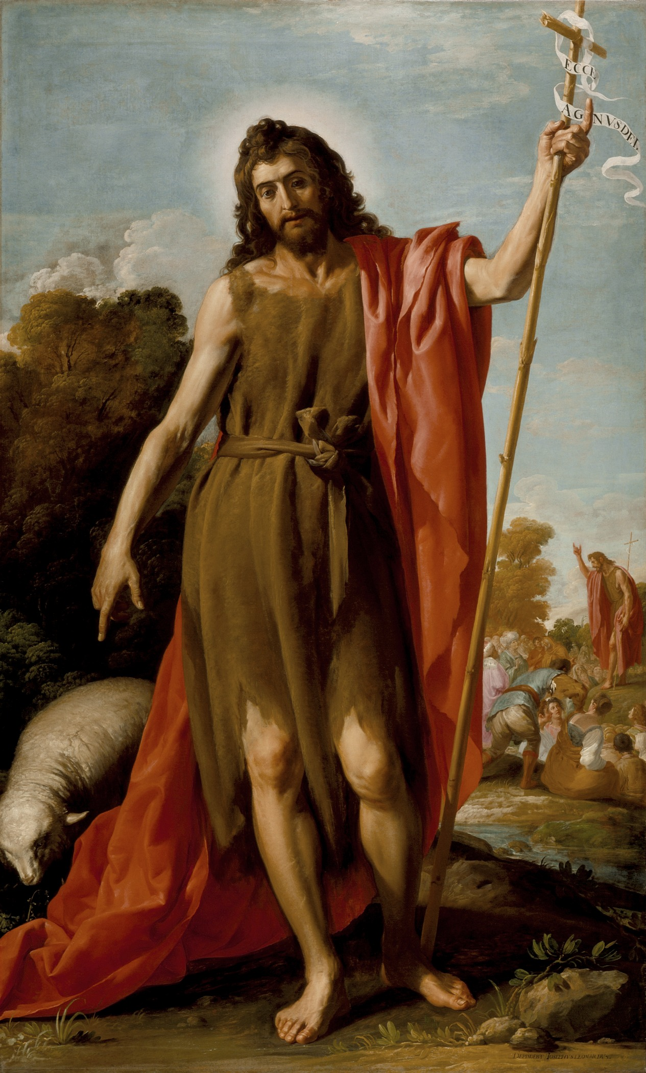 Jose Leonardo - Saint John the Baptist in the Wilderness